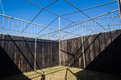 Animal Stable Portable Fencing Stock Images