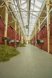 Horse stables Stock Photos