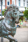 Horse statue in Berlin Stock Images