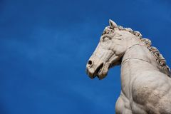 Horse statue on Capitoline Hill Royalty Free Stock Image