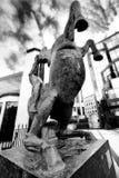 Horse statue in Edinburgh, Scotland Stock Images