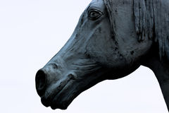 Horse. Statue of a horse in Heythuysen, Netherlands Stock Photography