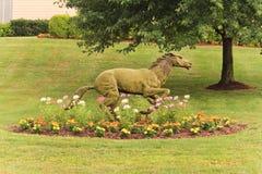 Horse Statue Stock Photo