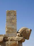 Horse statue of Persepolis, Iran. Royalty Free Stock Photo