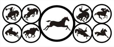 Horse style Stock Image