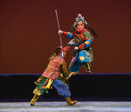 "The horse swagger-Children's Beijing Opera""Yue teenager"" Stock Photo"