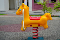 Horse swing Stock Image