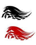 Horse symbol Stock Images
