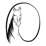 Horse symbol Stock Photos