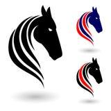 Horse symbol Stock Photo