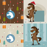 The horse is a symbol of the new year Royalty Free Stock Images