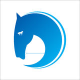 Horse symbol vector Stock Photos
