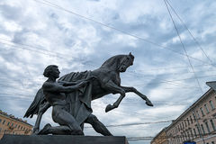 Horse tamer Royalty Free Stock Photos