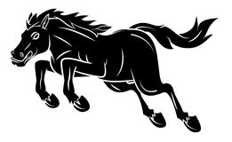 Horse Tattoo Stock Image