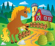 Horse theme image 4 Royalty Free Stock Photo