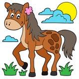 Horse theme image 6 Stock Photos