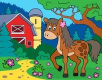 Horse theme image 7 Royalty Free Stock Photo