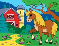 Horse theme image 8 Royalty Free Stock Photography
