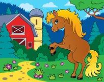 Horse theme image 9 Royalty Free Stock Photography