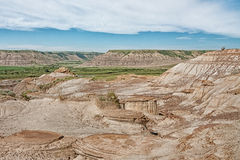 Horse Thief Canyon Landscape. In Drumheller Canada Stock Image