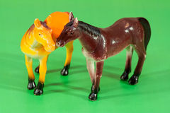Horse Toys Stock Images