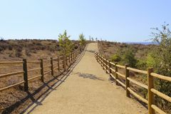 Horse trail Moorpark California Royalty Free Stock Photography