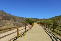 Horse trail Moorpark California Stock Image