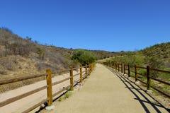 Horse trail Moorpark California Stock Image