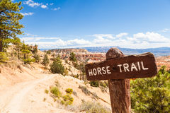 Horse Trail Royalty Free Stock Images