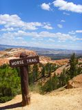 Horse Trail Sign Royalty Free Stock Image