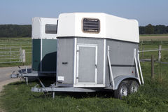 Horse trailer 01 Stock Photography