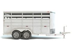 Horse Trailer Royalty Free Stock Photography
