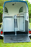 Horse trailer Stock Photography