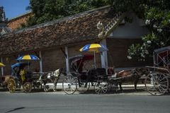 Carriage in lampang north thailand travel asia Stock Images