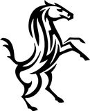 Horse in tribal style - vector illustration Royalty Free Stock Photo