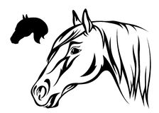 Horse vector Stock Photo
