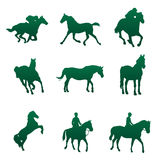 Horse vector. Horse Silhouettes , for your design idea Stock Photo
