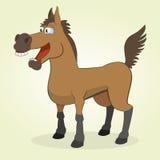 Horse. Vector Illustration of Cartoon Horse Stock Photos