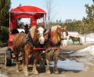 Horse Wagon Royalty Free Stock Photography