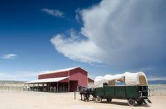 Horse Wagon Stock Image