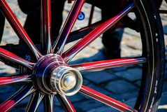 Horse Wagon Wheel Stock Images