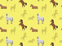 Horse Wallpaper 2 Royalty Free Stock Images