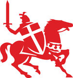 Horse Warrior Royalty Free Stock Photo