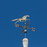Horse Weather Vane on Top of Barn Royalty Free Stock Photography