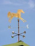 Horse weathervane Stock Photos
