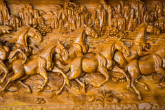 Horse wooden Royalty Free Stock Images