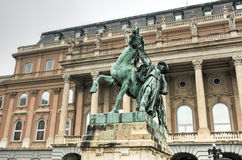 Horse Wrangler, Buda Castle - Budapest, Hungary. Royalty Free Stock Photo