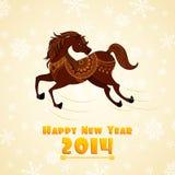 Horse Year Stock Photo