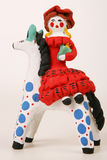 horseback повелительница стоковое фото