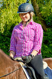 Horseback ride Stock Image